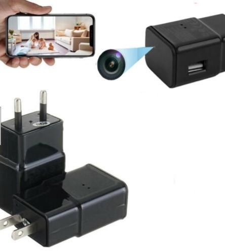 Зарядное устройство со скрытой HD WIFI камерой
