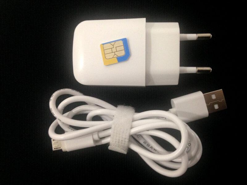 GSM жучок прослушка в зарядном устройстве