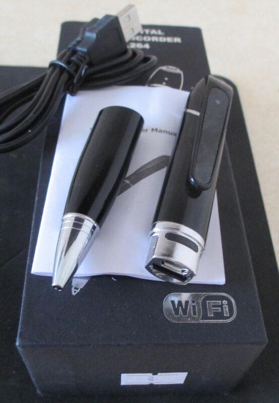 Скрытая FHD WIFI камера Шпионская Ручка