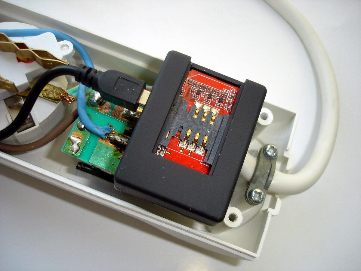 Сетевой фильтр удлинитель с gsm жучком